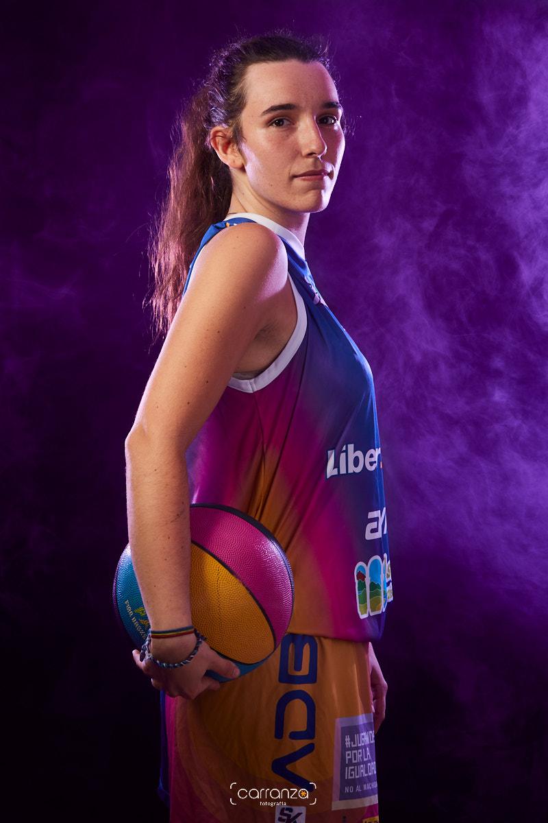María Iglesias.  Agrupación Deportiva Baloncesto Avilés.