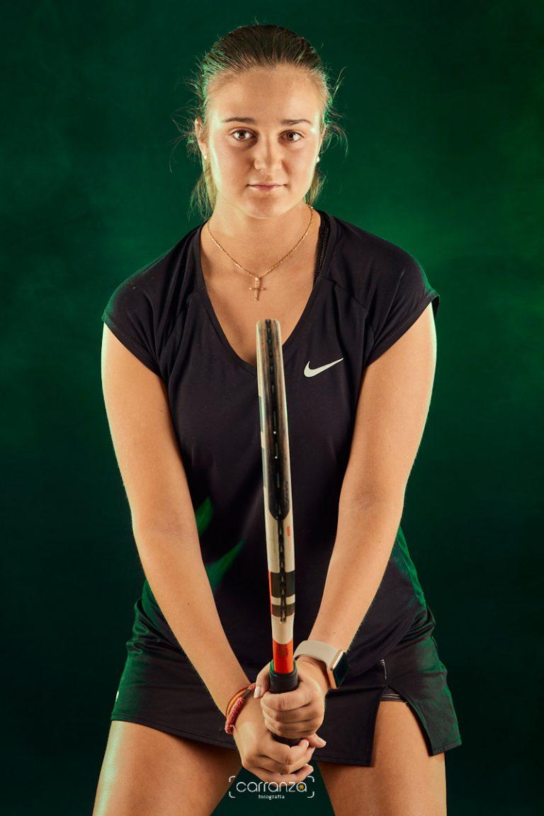 María Blanco. Club de Tenis Avilés