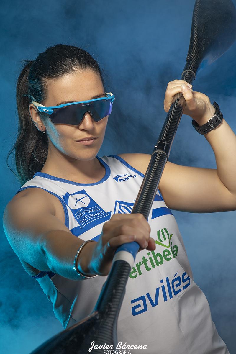 Carlota Álvarez. Asociación Atlética Avilesina.