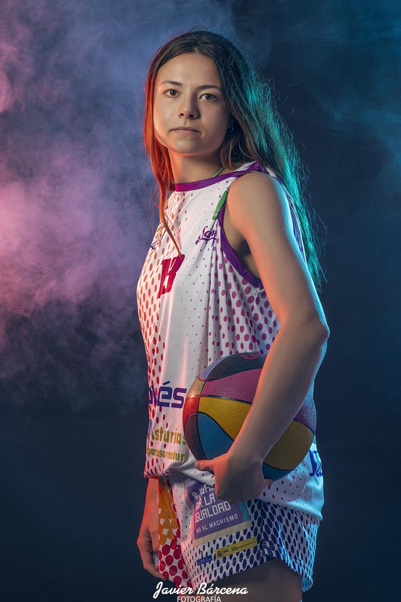 Sara Brandy.  Agrupación Deportiva Baloncesto Avilés.