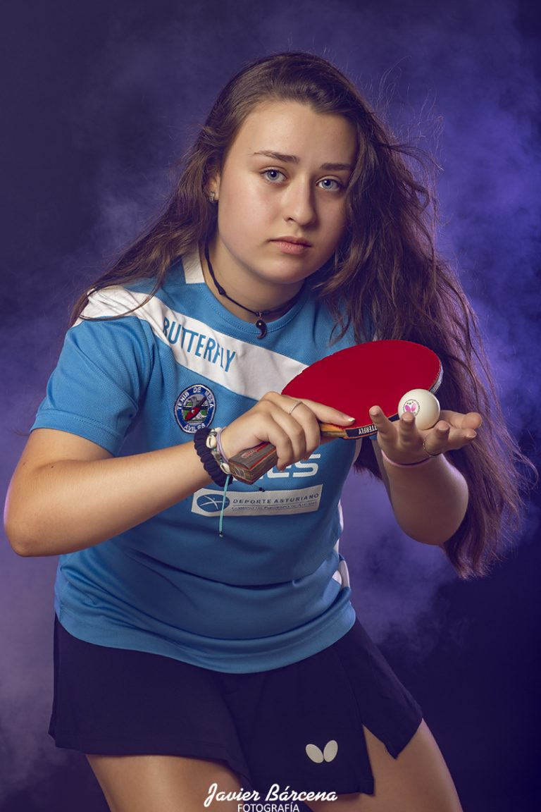 Alba Castaedo . Avilés Tenis de Mesa.