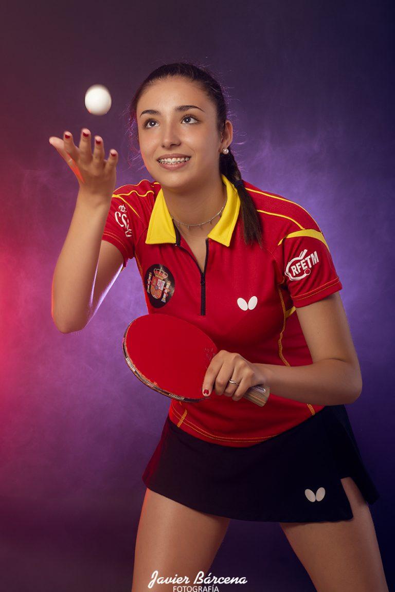 Carla Sánchez . Avilés Tenis de Mesa.
