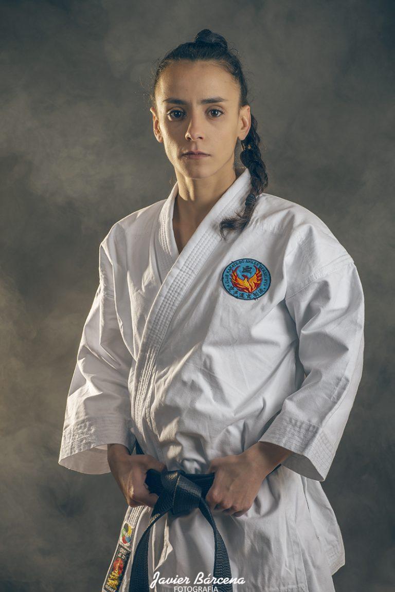 Lara Herrero. Kárate Avilés