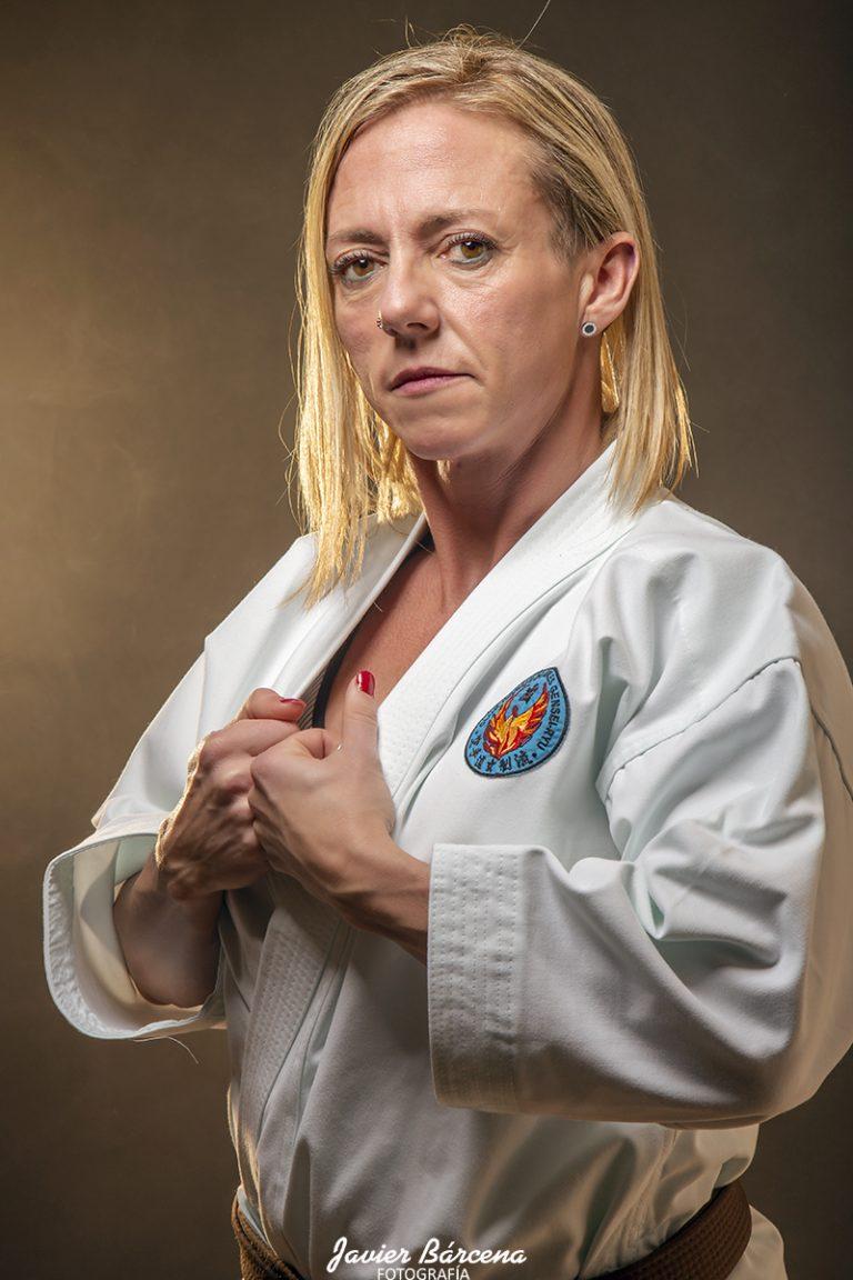 Charo Peña. Karate Avilés