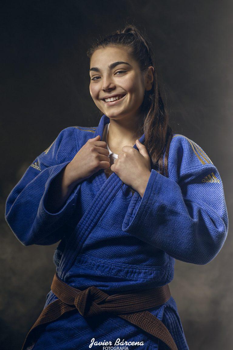 Alba Barreiro. Judo Club Avilés