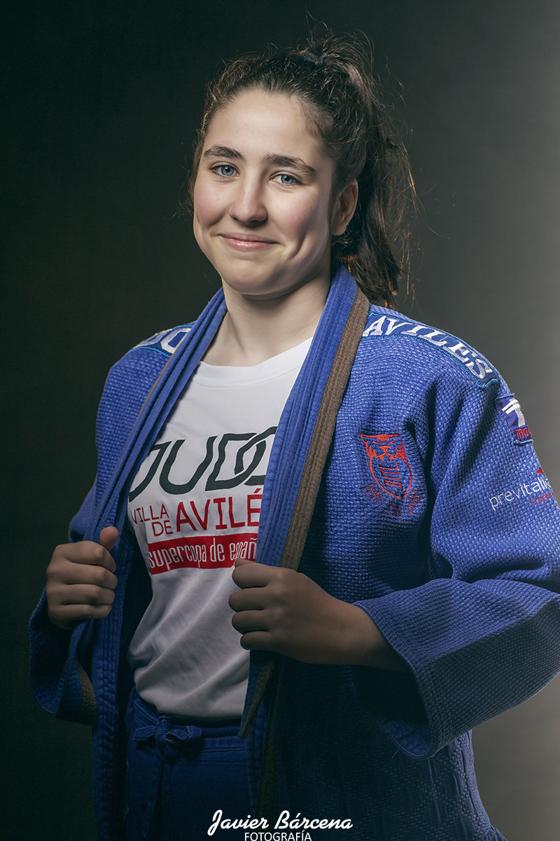 Alicia Curras. Judo Club Avilés