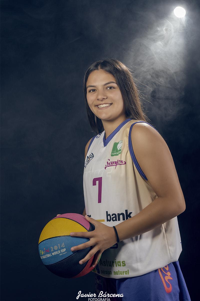 Sara Fraile.  Agrupación Deportiva Baloncesto Avilés.