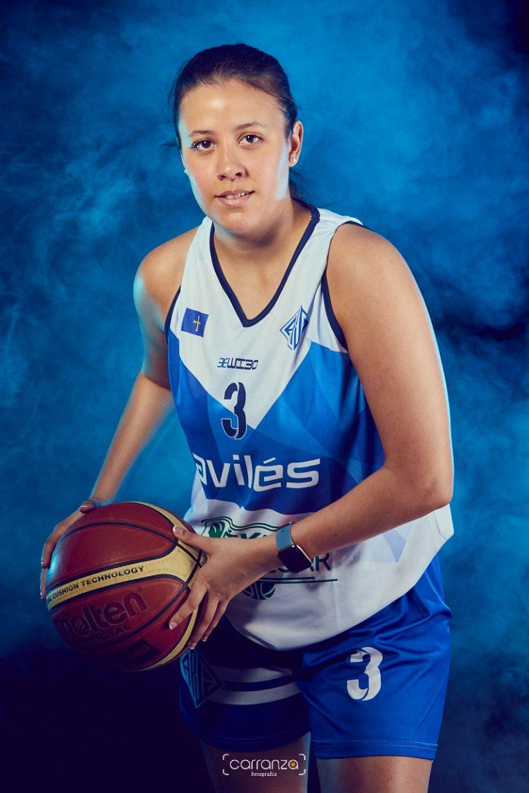 Laila Fenández. Asociación Atlética Avilesina.