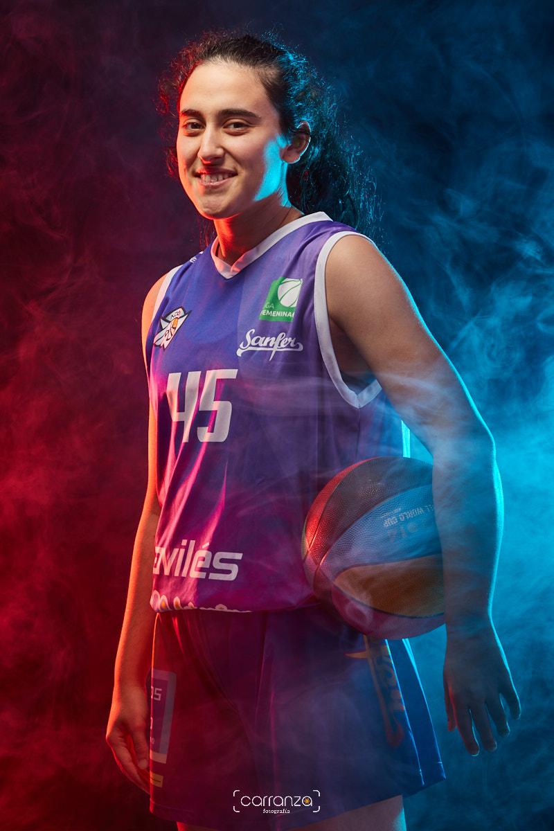 Carlota Velasco.  Agrupación Deportiva Baloncesto Avilés.